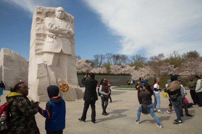 A Washington, une petite foule célèbre Martin Luther King