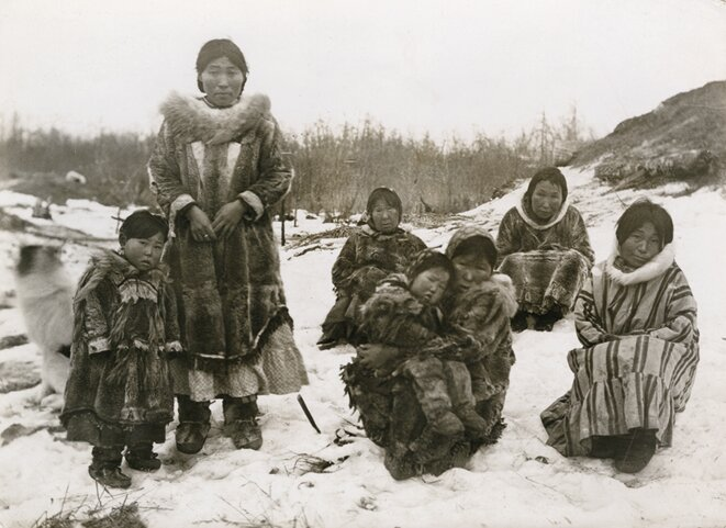 Inuits: témoignages d'un monde disparu