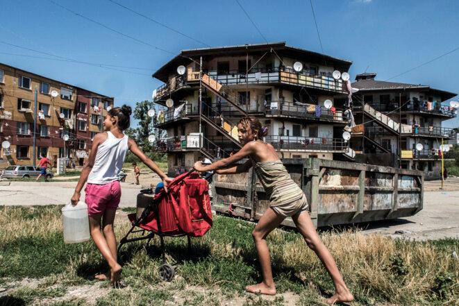En Slovaquie, des murs contre les Roms