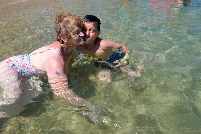« Vive les vacances, je m'en vais voir la mer»