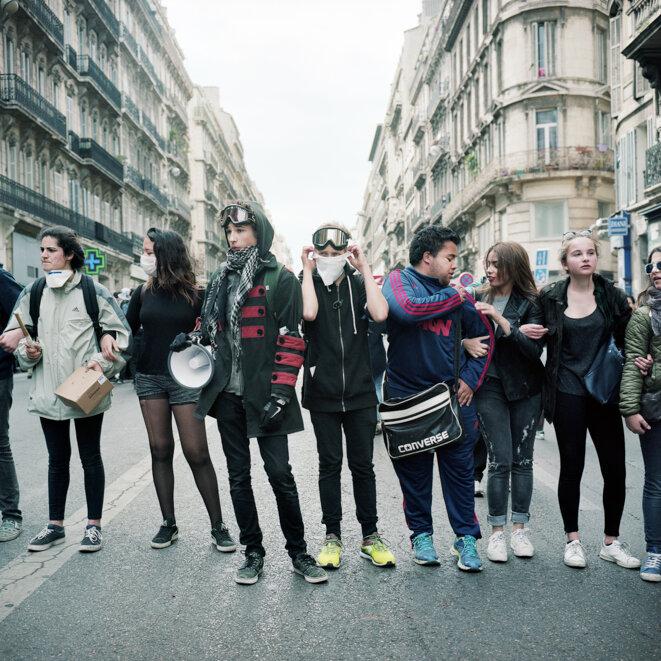 A Marseille, un mois de colères