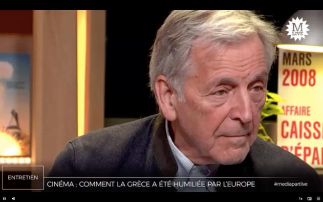 Dans les coulisses de la «crise grecque», avec Varoufákis et Costa-Gavras