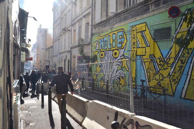Ces immeubles, propriété de Marseille, visés par des arrêtés de péril imminent