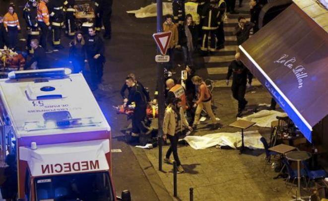 A Paris, le 13 novembre 2015. © Reuters