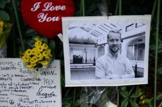 Une photo de François-Xavier Prévost tué au Bataclan le 13/11/15 © Photo du journal  la Voix du Nord