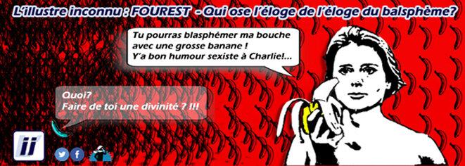 Caroline Fourest - Qui ose l'éloge de l'éloge du blasphème? © Danyel Gill