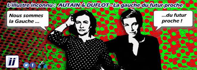 Clémentine Autain & Cécile Duflot - La Gauche du futur proche © Danyel Gill