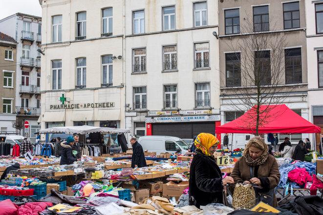 Mercado de Molenbeek, noviembre de 2015. © Pauline Beugnies - Out Of Focus