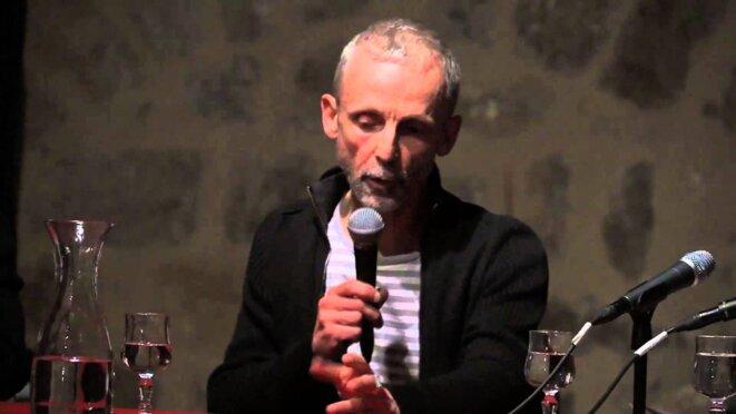 Mathieu Riboulet, conveersation à l'université de Toulouse © DR