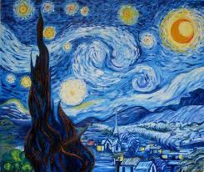 Nuit étoilée © Van Gogh