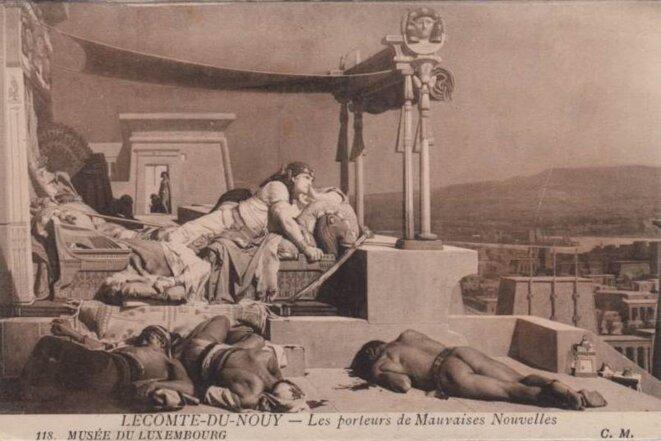 porteurs-de-mauvaises-nouvelles © LECOMTE DU NOUY au Musée du Luxembourg