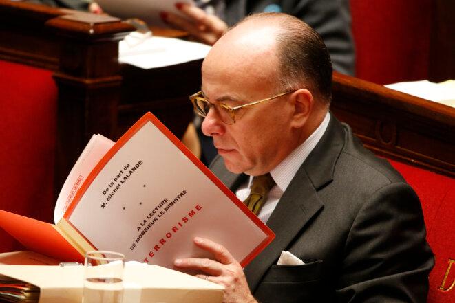 Bernard Cazeneuve, le 19 novembre 2015, à l'Assemblée nationale © Reuters
