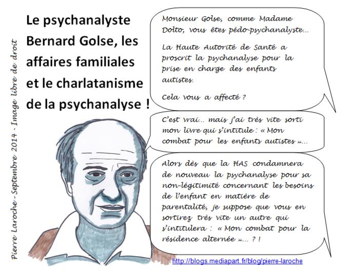 Caricature Bernard Golse Psychanalyse