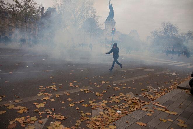 Place de la République à Paris dimanche © Jean-Paul Duarte