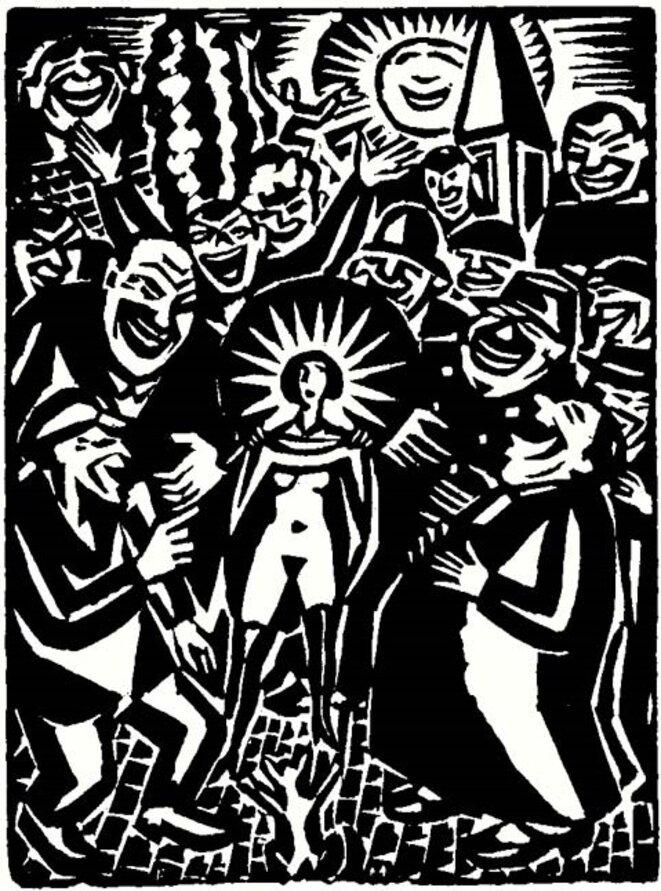 L'Idée © Frans Masereel (1920)