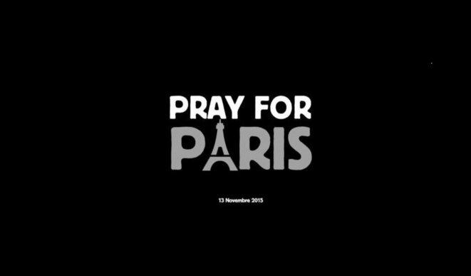 Logo Pray for Paris
