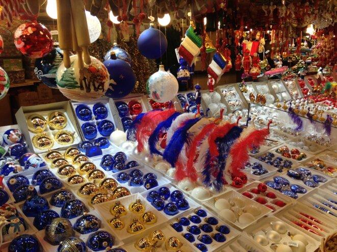 Stand au Marché de Noël, tendance républicaine © SD