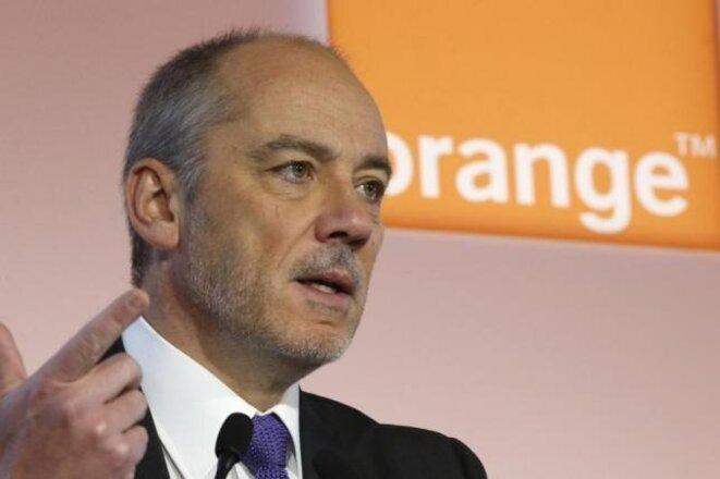Stéphane Richard, ancien directeur de cabinet de Christine Lagarde à Bercy et actuel PDG d'Orange © Reuters