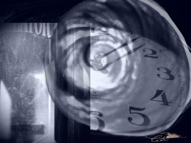 L'échappée du temps © Cécile Brice, 2014