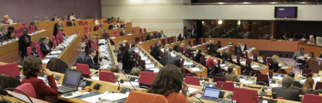 Assemblée régionale d'Île-de-France © Conseil régional d'Île-de-France