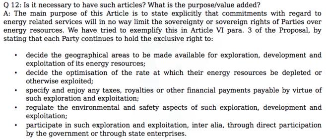 Un extrait de l'argumentaire © Wikileaks