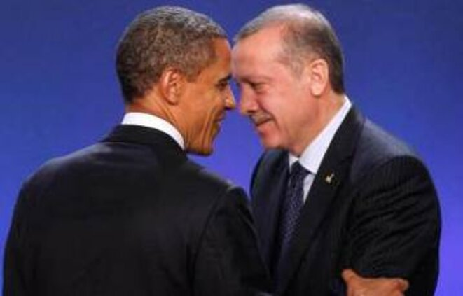 Obama et Erdogan