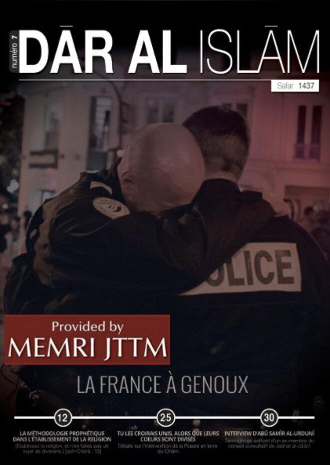 Couverture du Dar Al-Islam n7 : La France à genoux