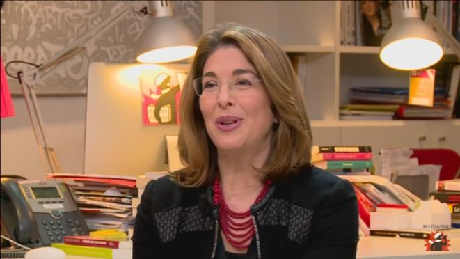 Naomi Klein sur Mediapart