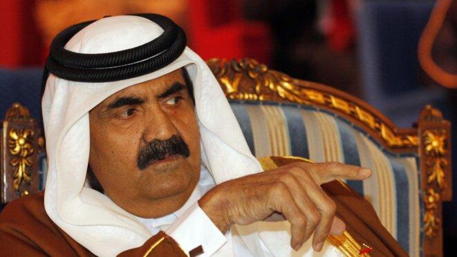 Hamad ben Khalifa Al-Thani, ancien émir du Qatar, a abdiqué en 2013 au profit de son fils Tamim. © Reuters