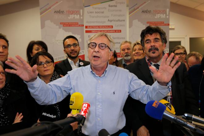 Jean-Pierre Masseret, mardi soir à son siège de campagne © Reuters