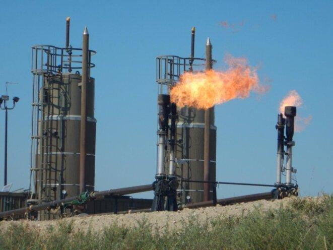 Puits de pétrole dans le Dakota du nord © Rob Jackson/Stanford university