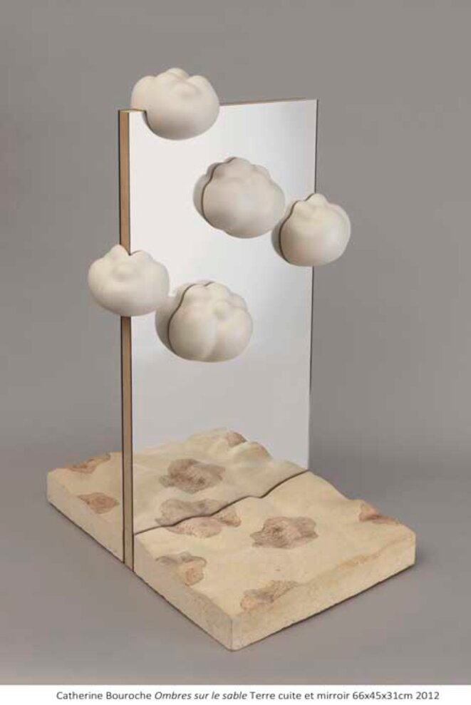 La sculptrice catherine bouroche a rejoint ses nuages le for Application miroir ordinateur