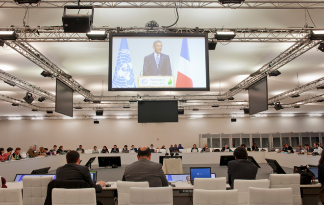 A la COP21, le premier jour du sommet (à-vif(s))