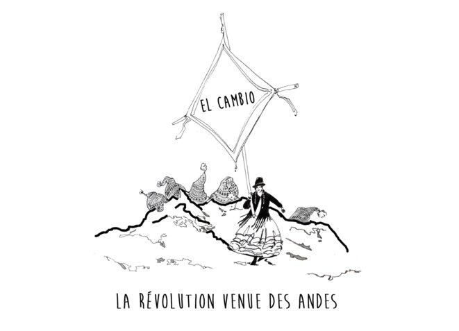 """Affiche """"El Cambio"""" © Diana Lupieri & Elise Chaparro"""