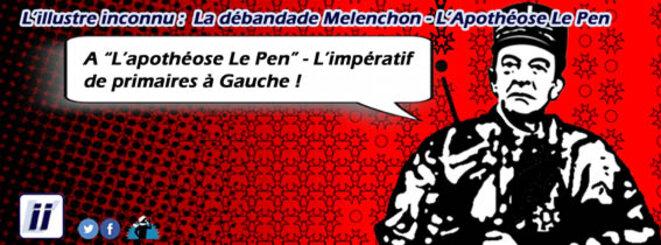 La débande Mélenchon - Vers des Primaires à Gauche © Danyel Gill