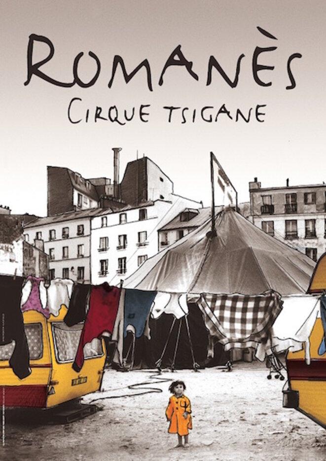 affiche du cirque Romanès
