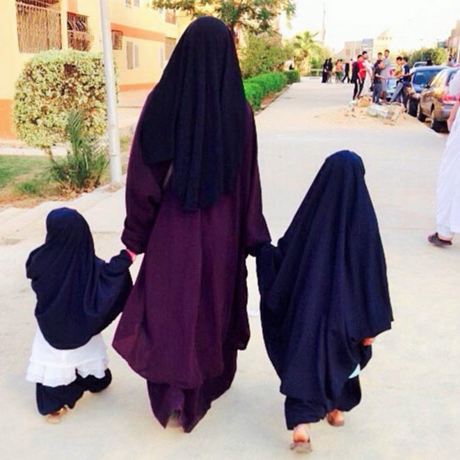 De nombreux salafistes français se sont installés dans la banlieue cairote Tagmouth Khamis. © Adama Sissoko