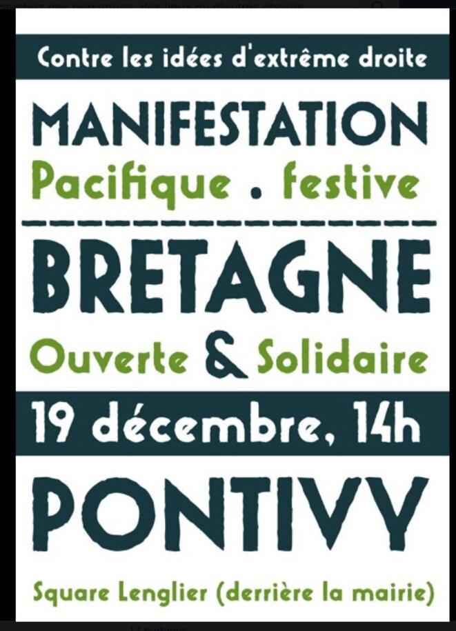 L'affiche de la manifestation