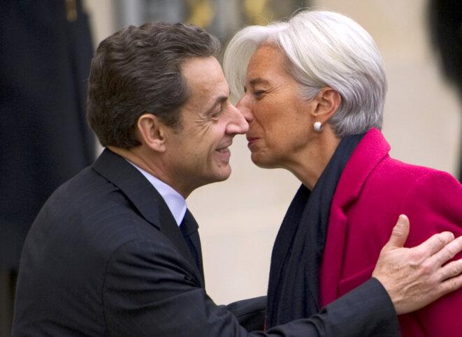 Sarkozy - Lagarde