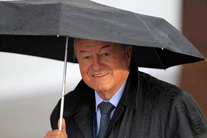 Bernard Brochand, député et maire de Cannes. © Reuters