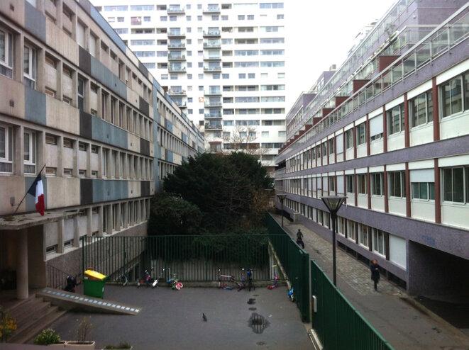 Le quartier Montgallet-Reuilly, derrière la gare de Lyon, le 16 décembre 2015. © LF
