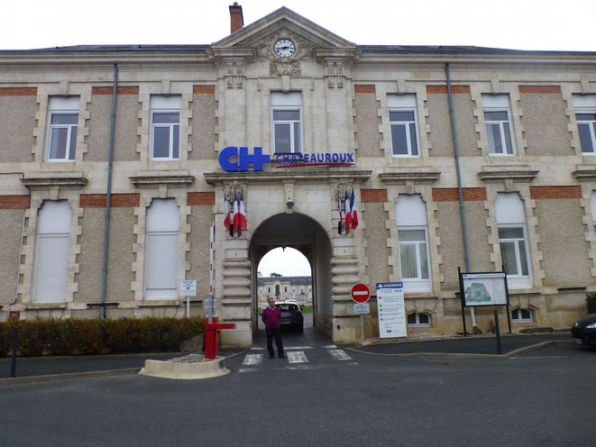 L'hôpital de Châteauroux © CCC / MP