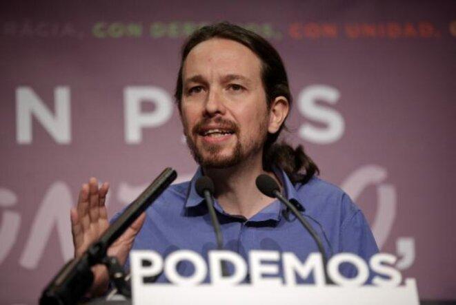 Pablo Iglesias, leader de Podemos. © Reuters