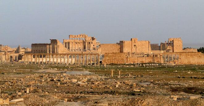 Les temples et l'agora de Palmyre