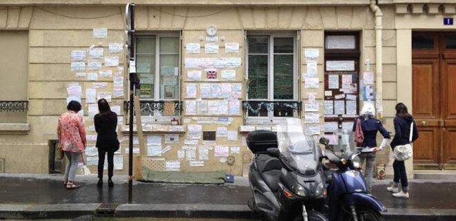 C'était chez moi, 1 rue de Chantilly à Paris