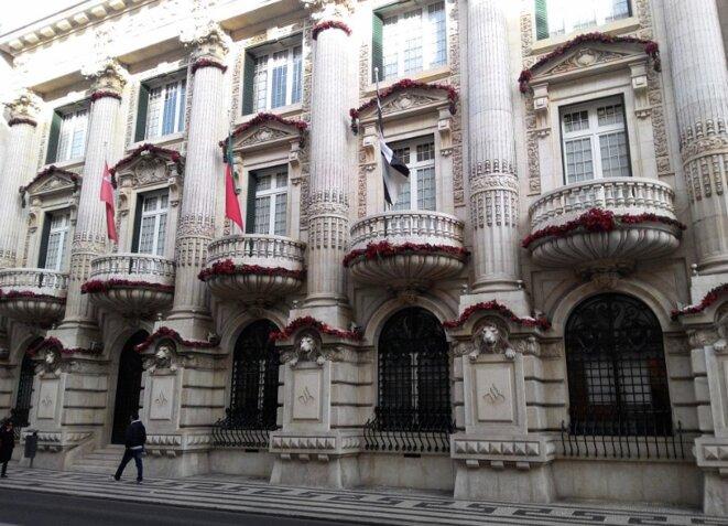 Siège de Santander Totta à Lisbonne. © DR