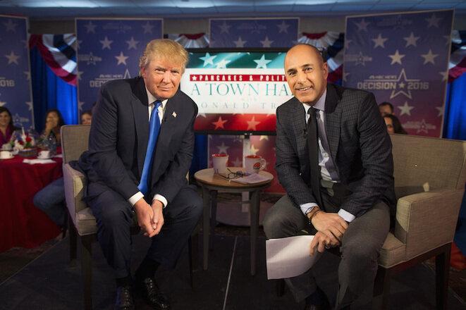 Trump, invitado en Today Show, una de las emisiones con más audiencia en EE.UU.