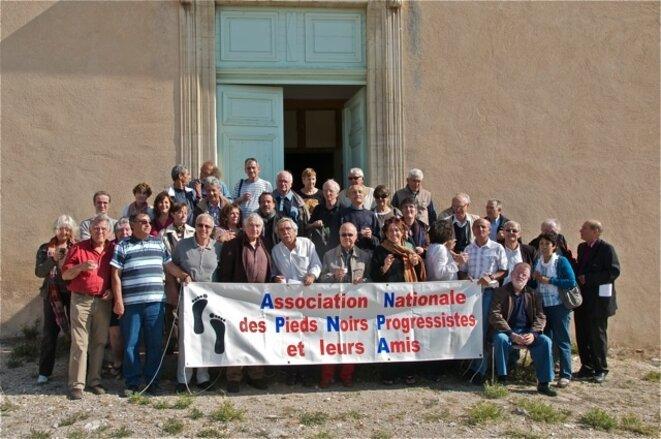 L'assemblée générale fondatrice de l'ANPNPA à Vitrolles en 2008.