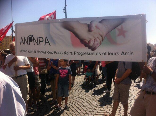 Participation de l'ANPNA à une manifestation de soutien à la Palestine à Marseille.