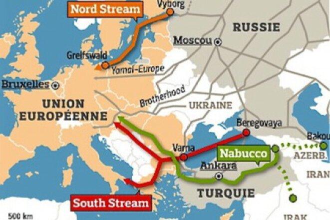 North Stream, South Stream,Nabucco